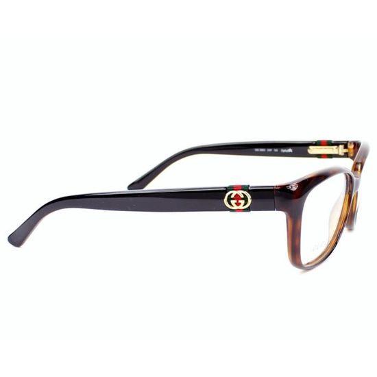 c316002174 Lunettes de vue Gucci GG 3683 -2XF Havane - Noir Noir - Achat / Vente  lunettes de vue Lunettes de vue Gucci GG 36... Femme - Soldes d'été Cdiscoun