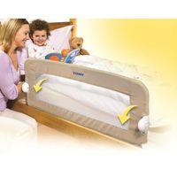 tomy barri re de lit enfant pliable universelle beige. Black Bedroom Furniture Sets. Home Design Ideas