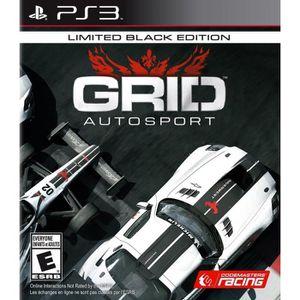 JEU PS3 Grid Autosport Black Edition Jeu PS3