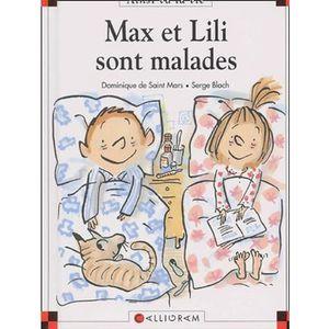Livre 6-9 ANS Max et Lili sont malades