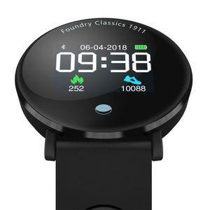 Montre connectée sport Y6plus écran couleur sang pression et d'oxygène sa