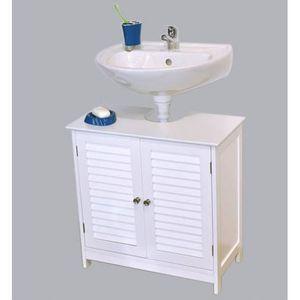 meuble salle de bain persienne achat vente meuble salle de bain persienne pas cher soldes. Black Bedroom Furniture Sets. Home Design Ideas