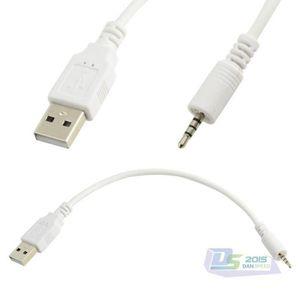 CÂBLE TÉLÉPHONE 2.5mm male AUX Plug Jack Pour USB 2.0 male Cable c