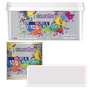 peinture vernis peinture murale monocouche couleur lin 25litres