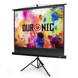 ECRAN DE PROJECTION Duronic TPS60 -43 Ecran de projection HD blanc mat