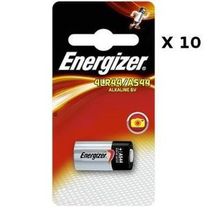 BATTERIE - CHARGEUR Lot de 10 Piles Energizer Alkaline 4LR44-
