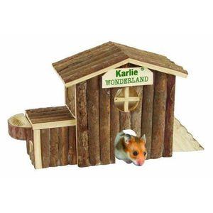 ACCESSOIRE ABRI ANIMAL Karlie 84785 Maison pour rongeur en bois Alaska 17