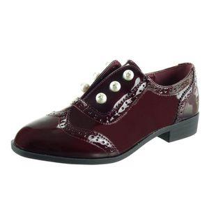 DERBY Women's Fashion Shoes Derby Shoe - Slip-on - Pearl