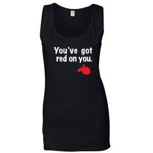 T-SHIRT T-shirt Femme sans manches Noir OLDENG00642 SHAUN