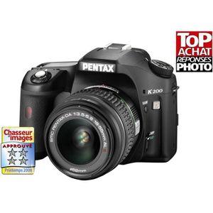 APPAREIL PHOTO RÉFLEX PENTAX K200D (testé dans Chasseur d'Images n°303 d