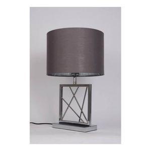 LAMPE A POSER Lampe à poser pied acier chromé INTERIOR