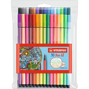 FEUTRES STABILO Pochette de 30 feutres de coloriage  Pen 6