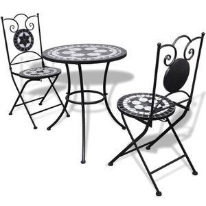 Table avec chaise mosaique - Achat / Vente pas cher