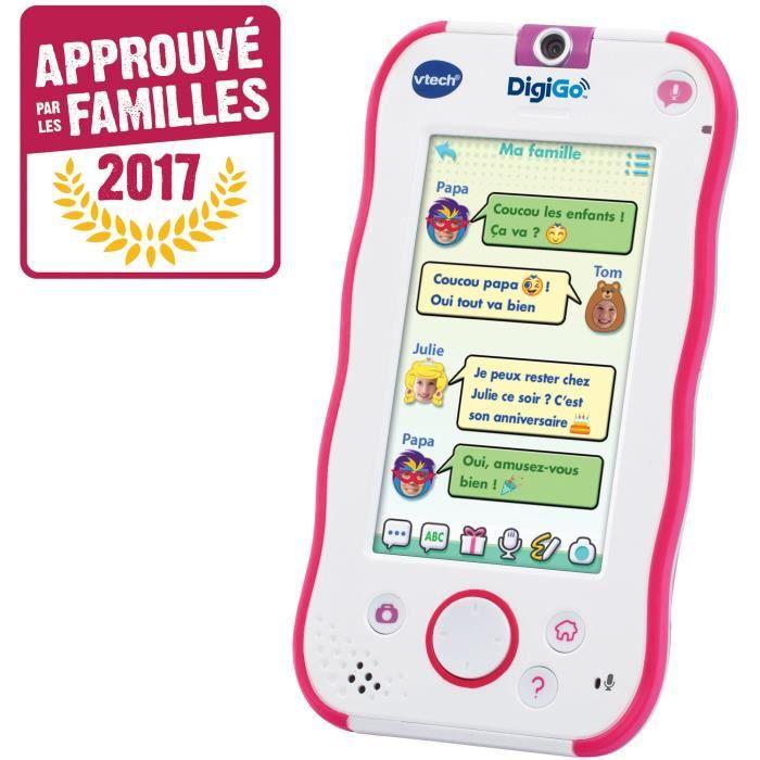 VTECH Digigo Smartphone enfant Rose