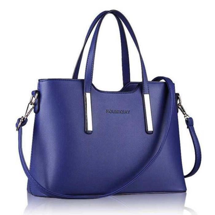 nouveau mode 2017 sac main femme sac main paule solide sac en cuir de haute qualit sac. Black Bedroom Furniture Sets. Home Design Ideas