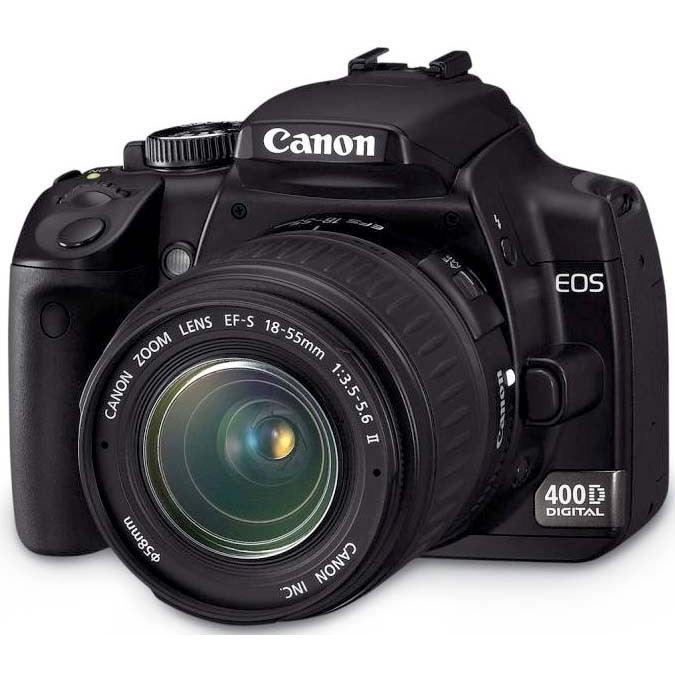 APPAREIL PHOTO RÉFLEX Canon EOS 400D + Objectif EF-S 18-55 mm