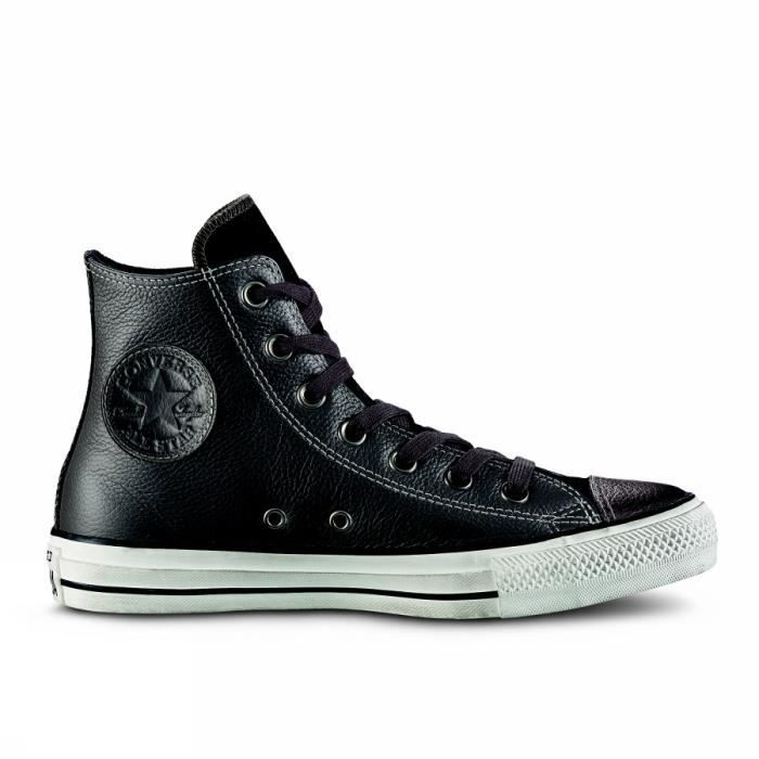 CONVERSE CTAS HI LEATHER DISTRESSED 158964C 020 MODA HOMME