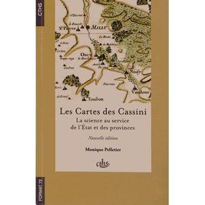 LIVRE GÉOGRAPHIE Les Cartes des Cassini