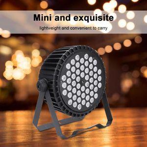 LAMPE ET SPOT DE SCÈNE 54LED RGB Lumière de scène ZQ-B250 pour la soirée