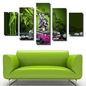 Tableau toile zen achat vente tableau toile zen pas for Tableau mural zen