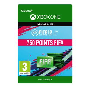EXTENSION - CODE DLC FIFA 19 Ultimate Team : 750 pts pour Xbox One