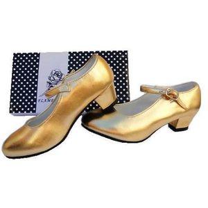 7c6a6481b01886 Chaussures escarpin de danse flamenco enfant - Achat / Vente pas cher