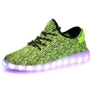 BASKET chaussures respirantes LED pour les hommes ou l...