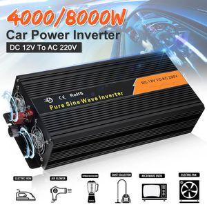 ONDULEUR 12-220V Onduleur Pure Sine Wave 4000W Max 8000W pi