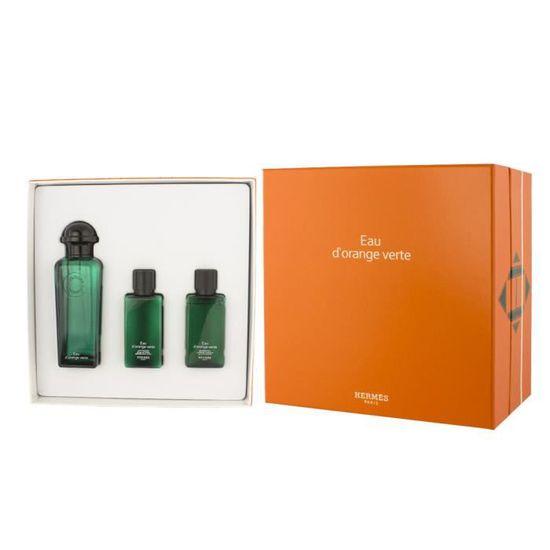 97401c409a24a2 Lot unisexe Eau d Orange Verte Hermes composé d un EDC 100ml, un 40ml de  gel douche et lotion pour le corps 40ml n. - Achat   Vente gel - crème  douche ...