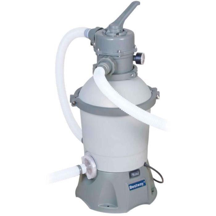 filtre à sable débit 2.006m³/h bestway
