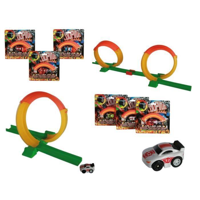 circuit voitures avec looping achat vente jeux et jouets pas chers. Black Bedroom Furniture Sets. Home Design Ideas