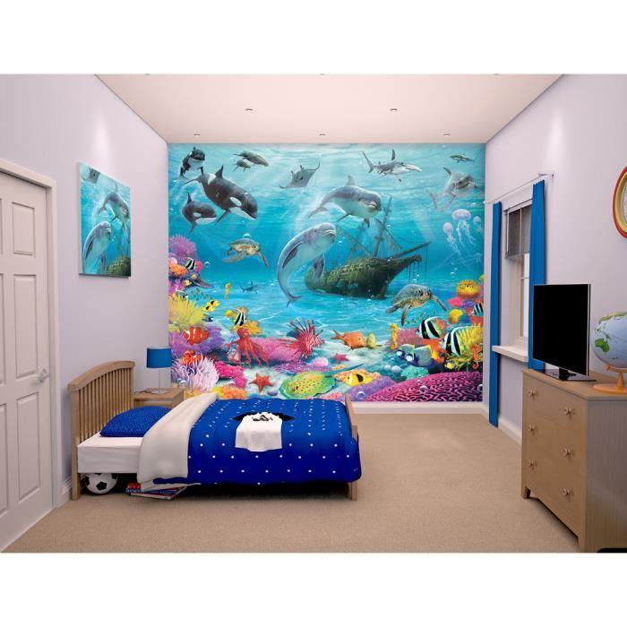 Poster Mural Ocean - Achat / Vente Poster Mural Ocean Pas Cher