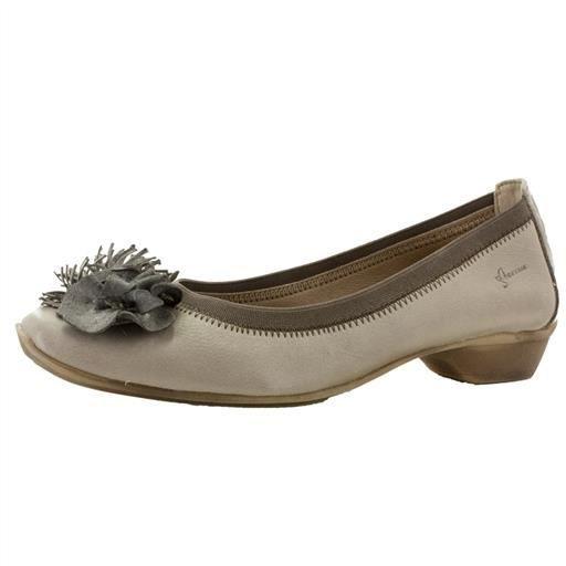 Dorking 6199 beige - Chaussures Ballerines Femme