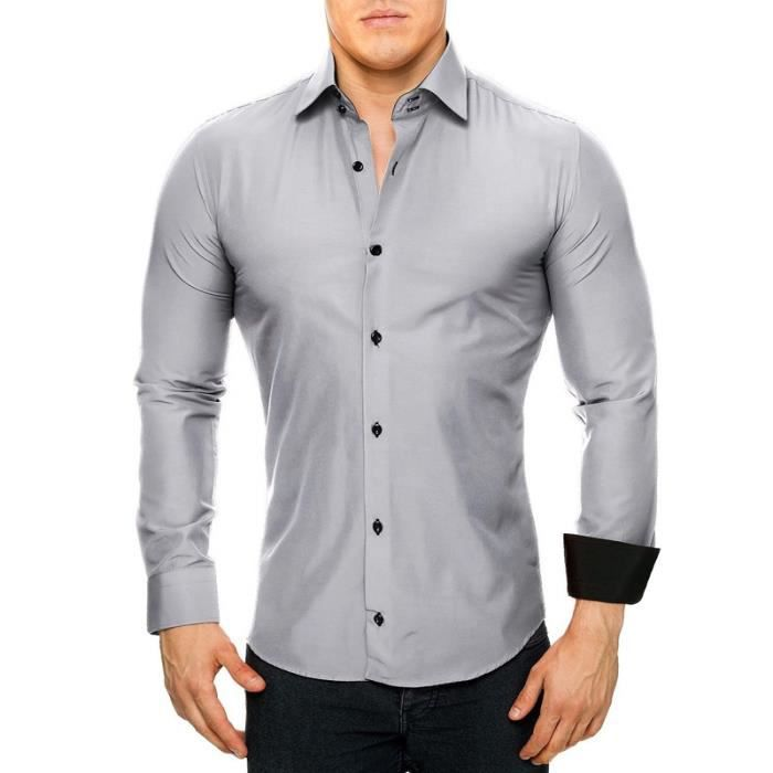 Chemise coupe ajustee homme