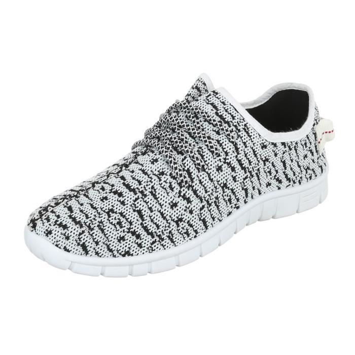 lacer Chaussures de 44 Sneaker chaussures sport gris homme w1FZXqPX