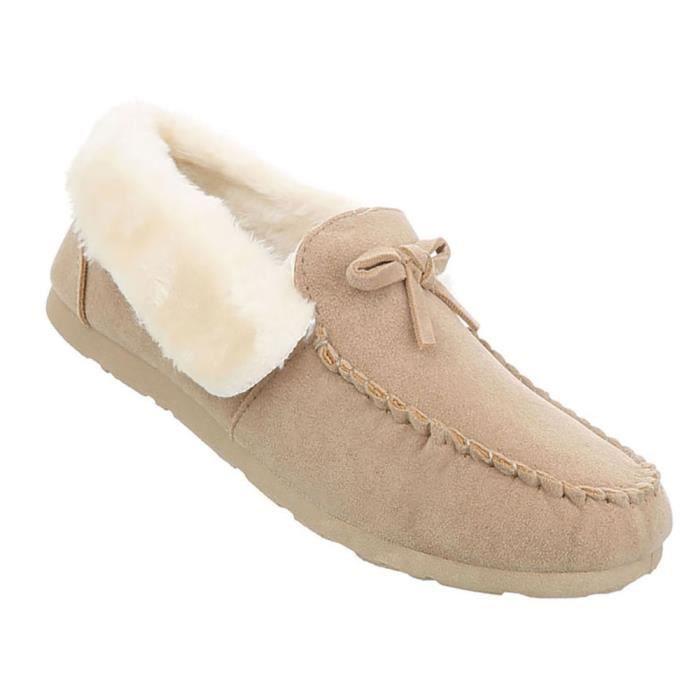 Chaussures femme mocassin Moderne or 41 Vqr7r