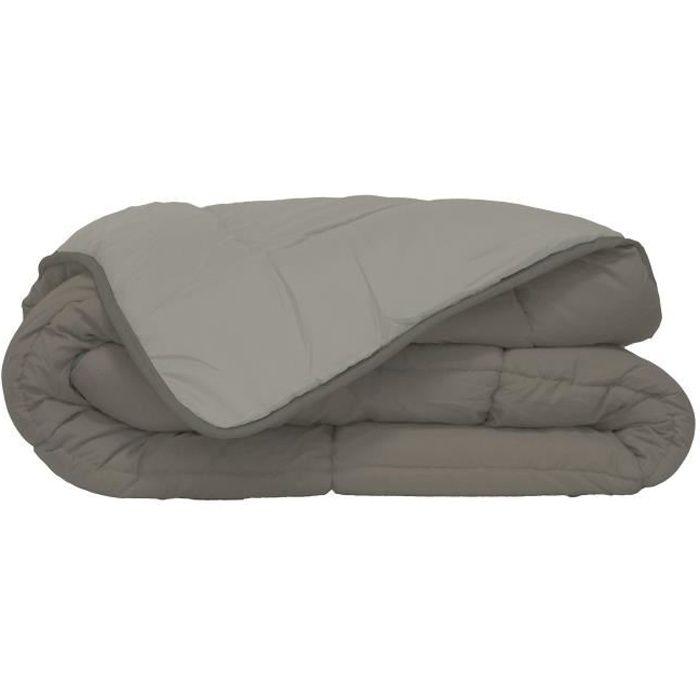 couette couleur 240x260 achat vente couette couleur 240x260 pas cher cdiscount. Black Bedroom Furniture Sets. Home Design Ideas
