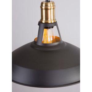 luminaire cuisine noire industrielle achat vente. Black Bedroom Furniture Sets. Home Design Ideas