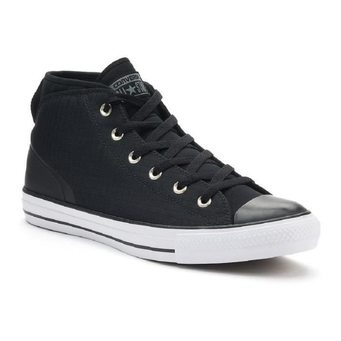 Converse Mens Chuck Taylor All Star Syde rue Mid Formateurs toile Z1L4H Taille-38 1-2 OpOyBi