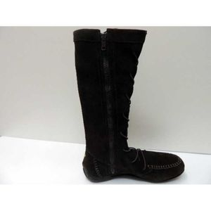 Bottes Cuir Gola Knot Brown Femme Pointure 36 mDTBxy