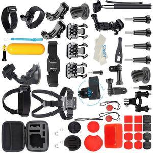 PACK CAMERA SPORT Pour GoPro Accessoires Hero7 / 6/5/4/3 Bundle Kit