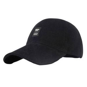 CASQUETTE Sport Caps Noir Baseball Visor / Golf / Tennis / C