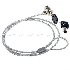 SYSTÈME ANTIVOL  Câble Acier Antivol Sécurité pour PC Ordinateur Po