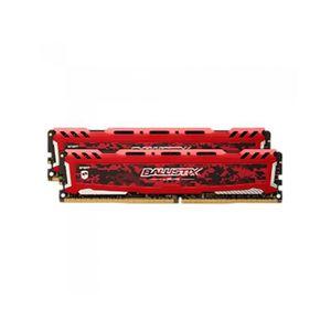 MÉMOIRE RAM Ballistix Sport LT Red 8GB Kit (2 x 4GB) DDR4-2666
