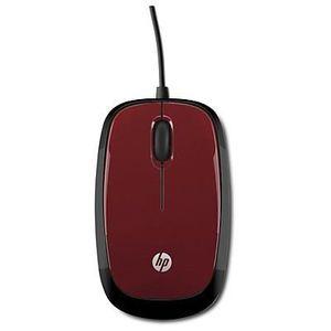 SOURIS HP  Souris filaire rouge X1200