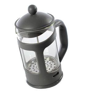CAFETIÈRE Cafetière à piston 800 ml - Grise
