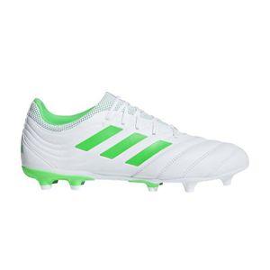 a93fc0cb8e2 CHAUSSURES DE FOOTBALL Chaussures Football Adidas Copa 19.3 Fg Blanc-Vert