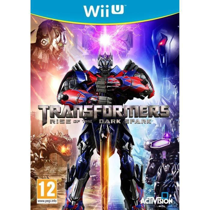 JEUX WII U Transformers: Rise Of The Dark Spark Jeu Wii U