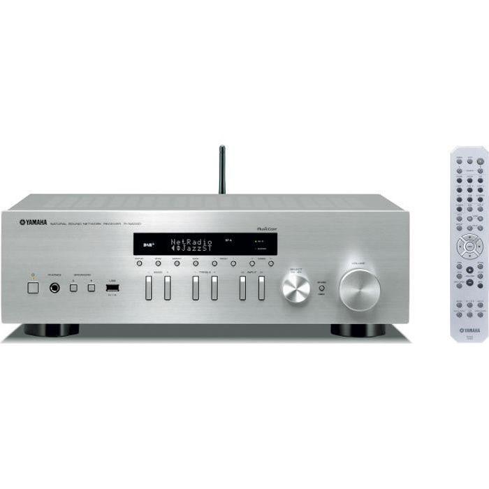 YAMAHA R-N402D Amplificateur Hifi Connecté - Argenté