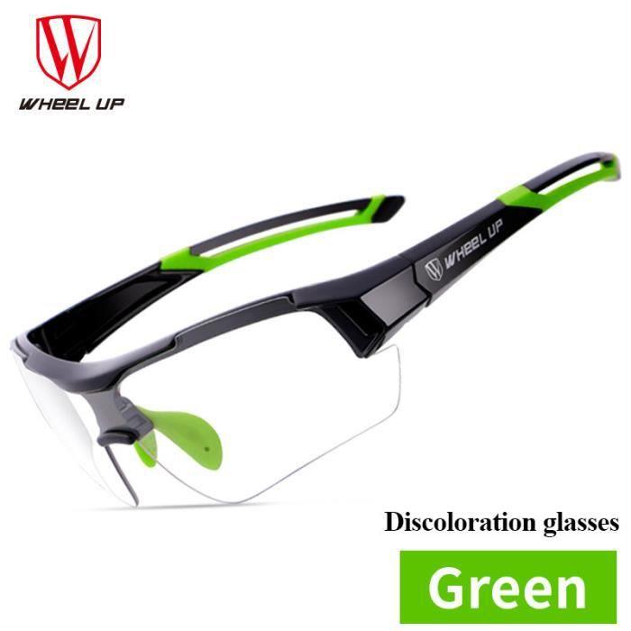 Wheel Up décoloration cyclisme lunettes de soleil route lunettes anti-UV PAC3698897